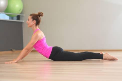 ćwiczenie na ból pleców